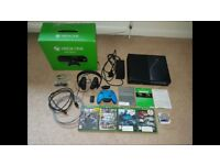 XBOX ONE 500gb 4Games All Cables, Headset included