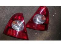 Renault clio tail light lenses