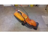 Flymo electric lawn mower with NEW BLADE
