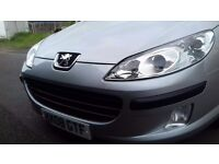 Peugeot 407 in silver, exelent condition