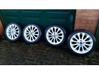 Ford Fiesta zetec s alloys with new tyres