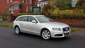 Audi A4 estate silver