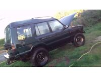 LANDROVER OFF ROADER DISCOVERY 300TDI