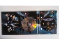 Matrix & Matrix Reloaded DVDs