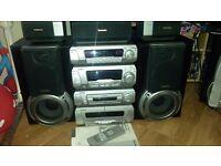 Technics 5cd Stereo system