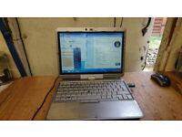 HP COMPAQ 2710P (DUAL CORE)WINDOWS 7 LAPTOP