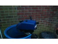 2.5 air cooled outboard,working ,but selling spares or repair.