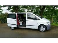 2012 mercedes vito crew van. no vat low miles 5 seats