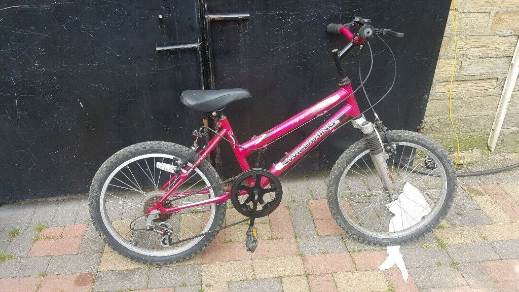 "GIRLS BIKE 20"" WHEELS 6YRS+(CHOICE OF 3)"