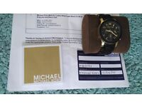 MK5191 Ladies Black Rubber Strap Michael Kors Watch
