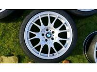 Bmw bbs 18 alloy wheels