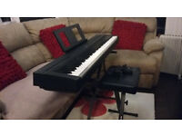 Yamaha P-45 Stage Piano; stand and adjustable stool for sale