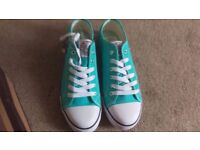 Ladies Size 7 Dunlops - Teal - Brand New With Tags, No box