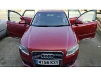 2006 Audi A4 T S Line Quattro (163), 1781CC Petrol, TURBO, 4DR, Auto