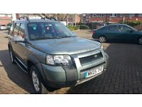 LEFT HAND DRIVE 2005 FREELANDER TD4 SPORTS 91,000 MILES IN SOUTH EAST LONDON