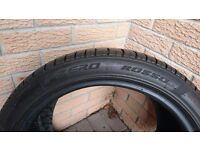 Pirelli P Zero Rosso Tyre 245 / 40 ZR 18 97Y. 5mm tread remaining. Mercedes MO, etc.