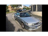 Saab 2.0 convertible turbo 11 months mot no faults great 4 seater summer fun