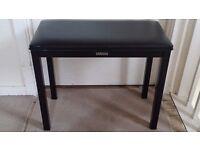 Original Yamaha Piano Stool in good condition - Black Colour