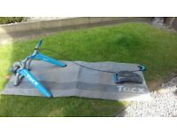 Cycletrainer with skyliner
