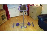 elliptical machine- AIR- WALKER CROSS TRAINER
