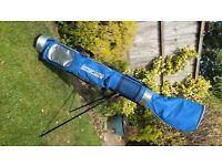 Longridge Pencil Golf Bag, Royal Blue