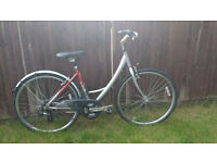 raleigh womens comfort hybrid bike