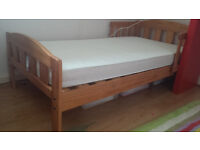 junior bed with mattress for sale