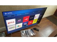 SAMSUNG 55-inch SUPER Smart SUHD QUANTUM DOT DISPLAY 4K LED TV-55KS7000,WifiPLS READ DESCRIPTION