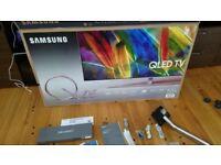 Samsung 55-inch QE55Q7F QLED HDR 1500 4K Ultra HD Smart TV,with TVPlus/Freesat HD & 360 Design