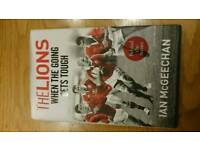 Lions when the going gets tough. Hardback Copy RRp £20