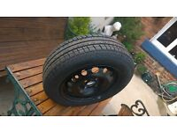 Brand new 175 65 14 tyre and wheel