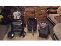 Full mothercare Trenton travel system