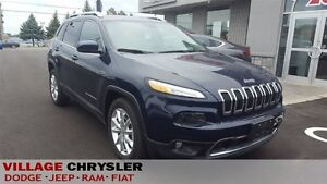 2016 Jeep Cherokee LIMITED V6 NAVI,BACKUP CAMERA,REMOTE START,HE