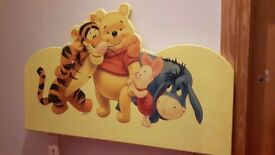 Winnie the Pooh headboard -single bed