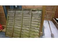Lap fence panels 6x5 need treatment