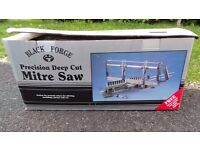 Black Forge Deep Cut Precision Mitre Saw - Was Father's but never used.