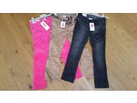 Girls bundle of brand new skinny jeans age 5 years from Next