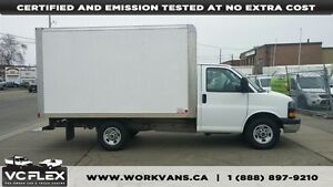 2013 GMC Savana 3500 12Ft Box Single Rear Wheels