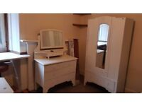 Double Bedsit with it's own kitchen area, including council tax