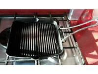 Typhoon cast iron 26.5cm griddle pan