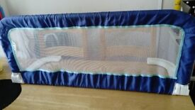 Safety First Bed Guard Bed Rail Portable Foldable