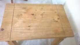 Small wooden table - needs attention!