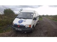 transit campervan , 2.0ltr petrol , very rare, enthusiast owned £995ovno