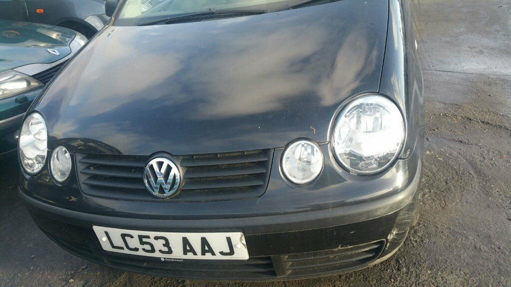 volkswagen polo twist 3 door hatchback black 2003