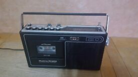 AM/PM Radio cassette recorder