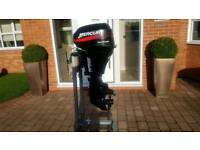 MERCURY 15HP LONG SHAFT FOUR STROKE 'BIG FOOT'  REMOTES NEEDED