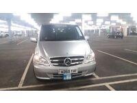 Mercedes Vito 9 seater silver 60 plate