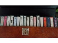 Selection of music tapes