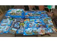 Awesome big job lot of Lego Inc figures and instruction books