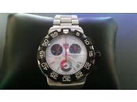 Genuine men's Tag Heuer chronograph watch